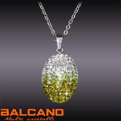 Balcano Multi Cristalli nyaklánc